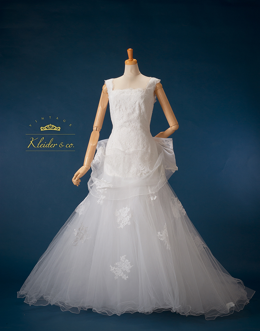 桂由美のウエディングドレス